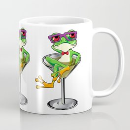 Cartoon Tree frog Martini cocktail Coffee Mug