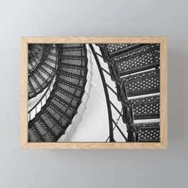 Hunting Lighthouse Stairs 1 Framed Mini Art Print