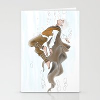 jack frost Stationery Cards featuring Jack Frost by @Milre_art