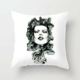 Muon Throw Pillow