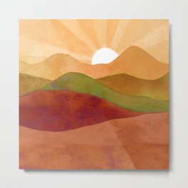Autumn Landscape 3 Metal Print