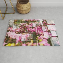 Orchids & Windows | Hong Kong Double Exposure Rug
