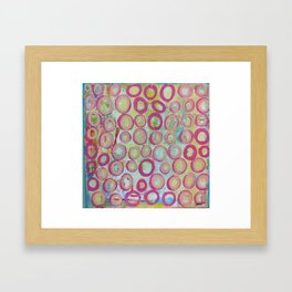 circle.  Framed Art Print