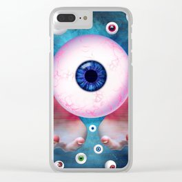 Watching You by GEN Z Clear iPhone Case