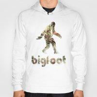 bigfoot Hoodies featuring Bigfoot Predator by D-fens