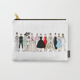 Audrey Hepburn Circle Fashion Carry-All Pouch