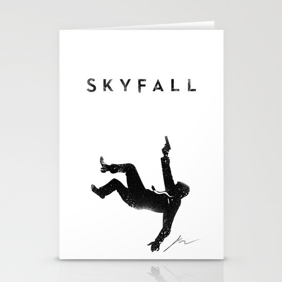 Skyfall Stationery Cards