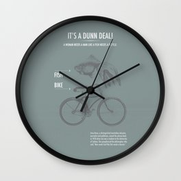 It's a Dunn Deal! Wall Clock