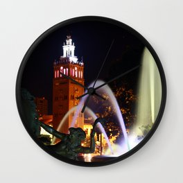 JC Nichols Memorial Fountain Wall Clock