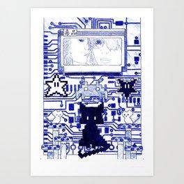 Bootleg Spell VIIIbit Art Print