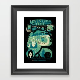 Legends from the Land of Ooo Framed Art Print