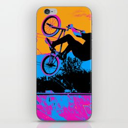 BMX Back-Flip iPhone Skin