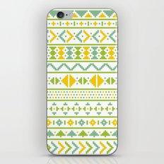 Christmas Jumper Pattern iPhone & iPod Skin