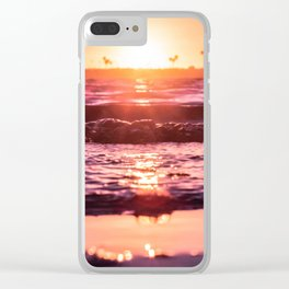 Mission Bay Shoreline in San Diego, California Clear iPhone Case