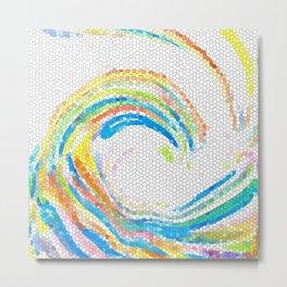 Design 35 mosaic look Metal Print