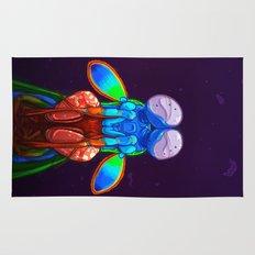 Intense Mantis Shrimp Rug