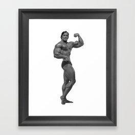 Arnold Pose Framed Art Print