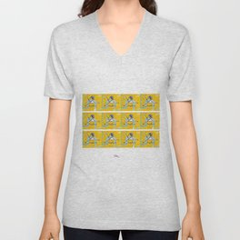 The Delightful SATIE     by Kay Lipton Unisex V-Neck