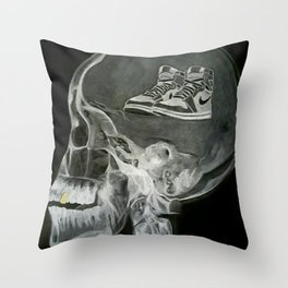 SneakerHead Throw Pillow