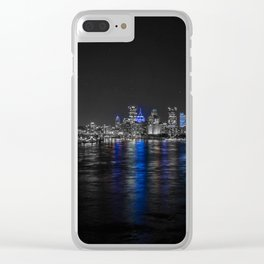 Pittsburgh Strong! Love Thy Neighbor No Exceptions Clear iPhone Case
