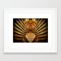 predator Framed Art Prints featuring Predator by Robin Curtiss
