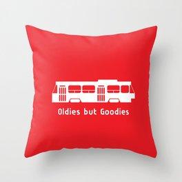 Oldies but Goodies - Streetcar, Toronto, ON, Canada Throw Pillow