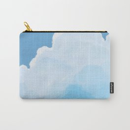 Blue Sky White Cloud Carry-All Pouch