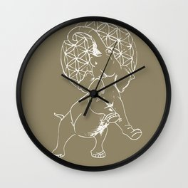 Elephant Life Wall Clock
