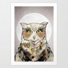 The Great Horned Owl Art Print