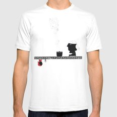 Little Red grandmother Mens Fitted Tee White MEDIUM