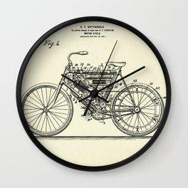 Motor Cycle-1901 Wall Clock