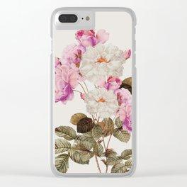 Bella Rosa Clear iPhone Case