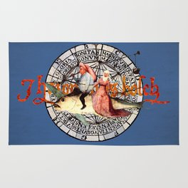 Bosch Flying Fish Couple Rug