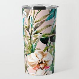Pattern floral tropical 001 Travel Mug