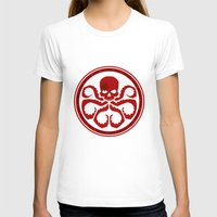 hydra T-shirts featuring Hail Hydra! by livinginamovie