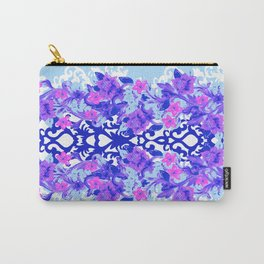 Baroque Blue Carry-All Pouch