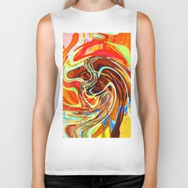 """"""" The beauty pleases eyes, the sweetness charms the art! """"  Biker Tank"""