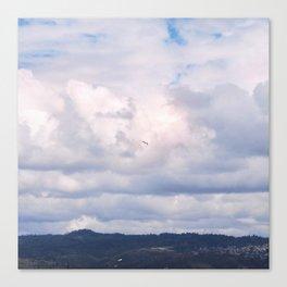 Pastel vibes 41 - El vuelo Canvas Print