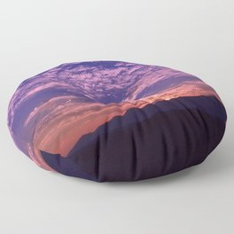 SW Mountain Sunrise - II Floor Pillow