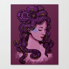 A Mermaid's Hair Canvas Print