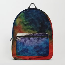 Tie Dye Cupcake Backpack