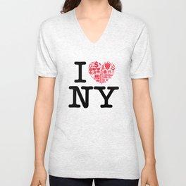 I everything NY Unisex V-Neck