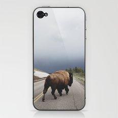 Street Walker iPhone & iPod Skin