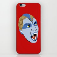 sylvia plath iPhone & iPod Skins featuring The Lair of the White Worm - Sylvia Marsh by AdrienneD