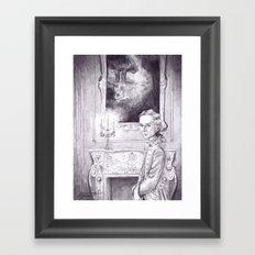 Rococo Vampire Framed Art Print