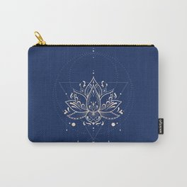 Lotus Dark Carry-All Pouch