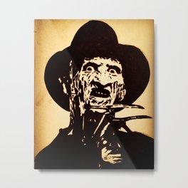 Freddy Krueger Metal Print