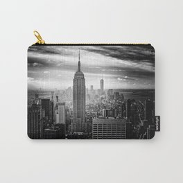 New york city black white 2 Carry-All Pouch