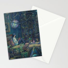 Howl`s room Stationery Cards