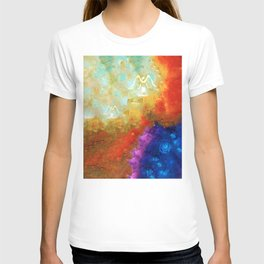 Angels Among Us - Emotive Spiritual Healing Art T-shirt